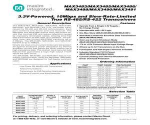 MAX3483ESA+T.pdf